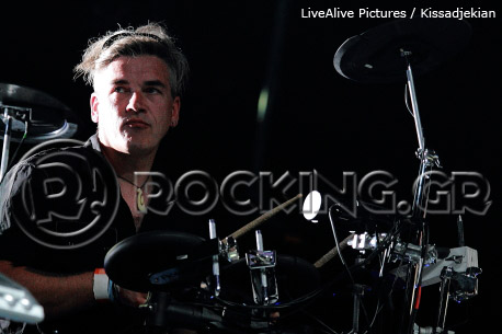 Peter Hook & The Light @ Ejekt Festival, Athens, Greece, 16/07/13