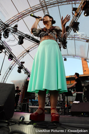 Jessie Ware, Athens, Greece, 14/06/13