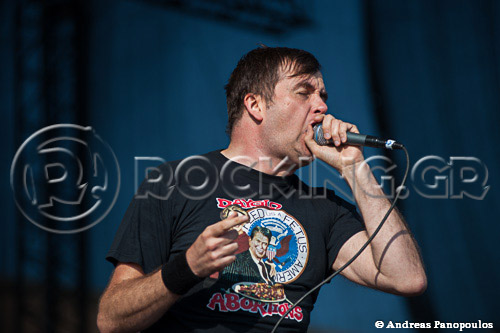 Napalm Death, Athens, Greece, 01/07/13