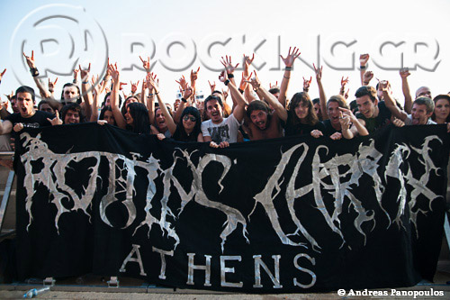 Rotting Christ, Athens, Greece, 01/07/13