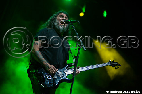 Slayer, Athens, Greece, 01/07/13