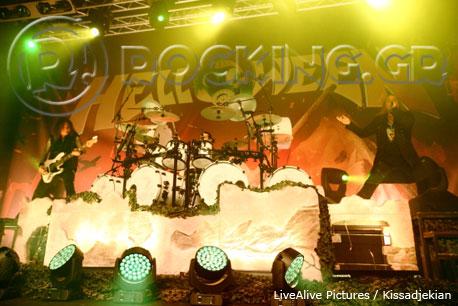 Helloween, Athens, Greece, 09/03/13