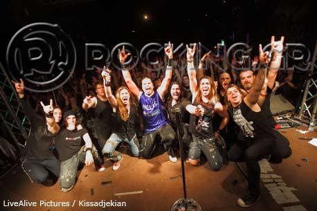 Jeff Scott Soto - Danger Angel, Athens, Greece, 26/04/13