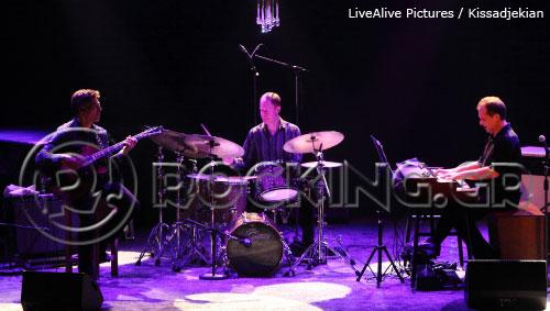 Larry Goldings Trio, Athens, Greece, 08/12/13