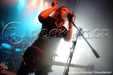 New Model Army, Athens, Greece, 30/11/13