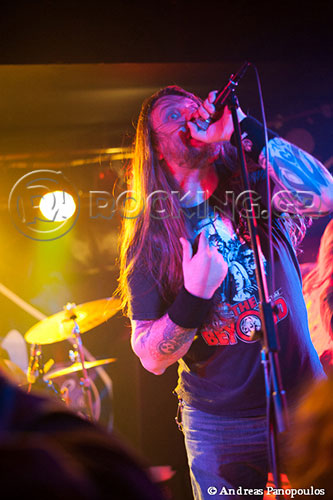 Orange Goblin, Athens, Greece, 14/11/13
