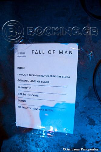 Fall Of Man, Athens, Greece, 11/06/13