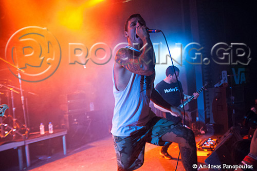 Parkway Drive, Athens, Greece, 11/06/13