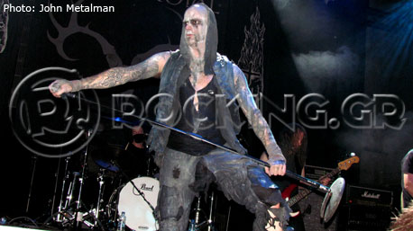 Primordial, Athens, Greece, 22/11/13