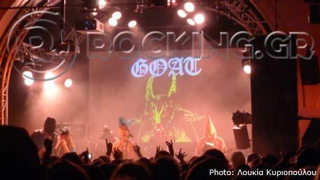 Goat, Tilburg, Netherlands, 19/04/13