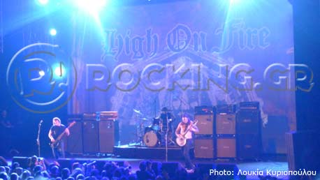 High On Fire, Tilburg, Netherlands, 20/04/13