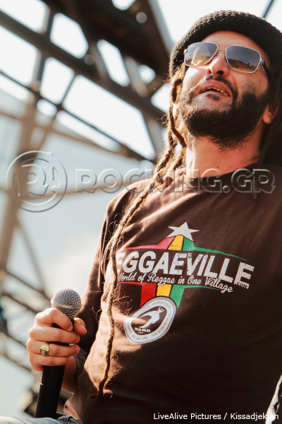 Alborosie, Athens, Greece, 07/07/13