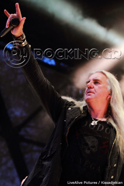 Saxon, Athens, Greece, 07/07/13