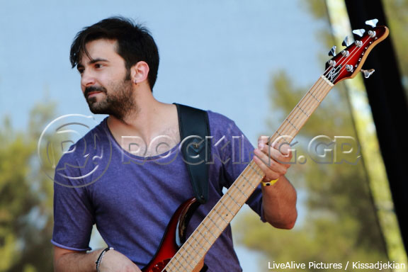 Gautier @ Rockwave Festival, Athens, Greece, 08/07/13