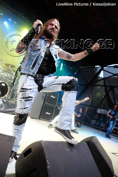 Iced Earth @ Rockwave Festival, Athens, Greece, 08/07/13