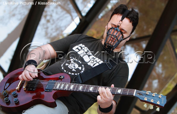 Psycho Choke @ Rockwave Festival, Athens, Greece, 08/07/13