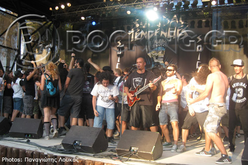 Suicidal Tendencies @ Rockwave Festival, Athens, Greece, 08/07/13