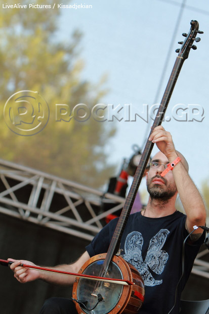 Chaostar @ Rockwave Festival, Athens, Greece, 09/07/13