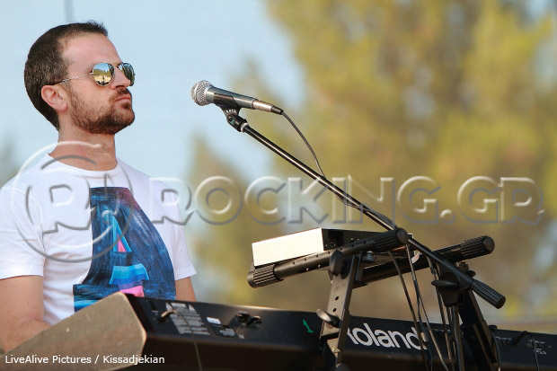 Craig Walke @ Rockwave Festival, Athens, Greece, 09/07/13
