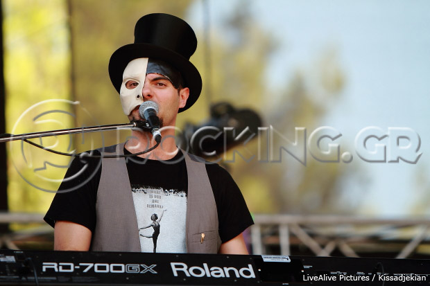 Opera Chaotique @ Rockwave Festival, Athens, Greece, 09/07/13