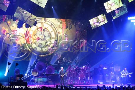 Rush, The O2 Arena, London, UK, 24/05/13
