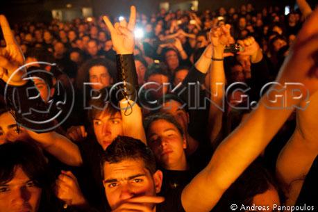 Eluveitie, Athens, Greece, 16/03/13