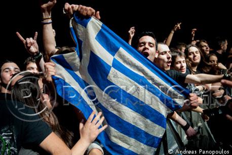 Sabaton, Athens, Greece, 16/03/13