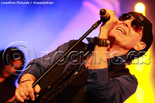 Scorpions & friends, Athens, Greece, 11/09/13