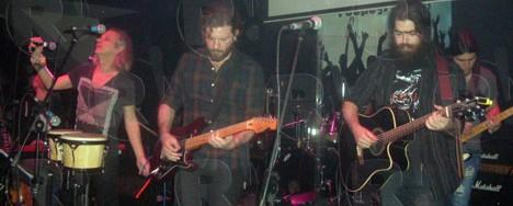 Χρήστος Θηβαίος & Mr. Highway Band @ Ρυθμός Stage, Ηλιούπολη, 02/02/13