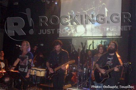 Χρήστος Θηβαίος & Mr. Highway Band, Athens, Greece, 02/02/13