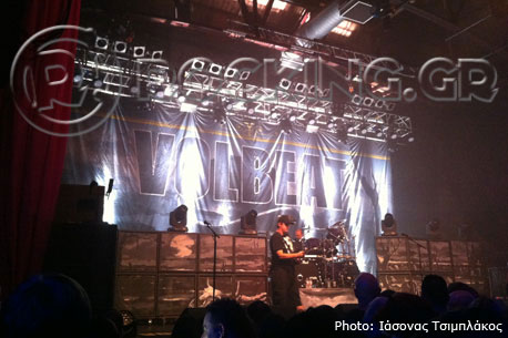 Volbeat, Glasgow, Scotland, 17/10/13