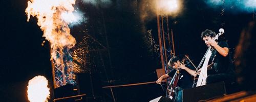 2Cellos, Minor Project ft. Nouveau Sextet @ Τεχνόπολις, 15/07/14