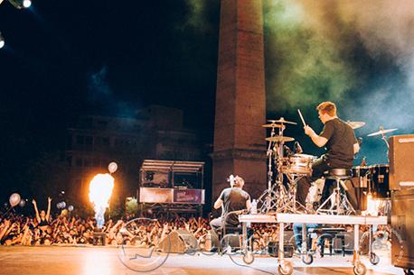 2Cellos, Athens, Greece, 15/07/14