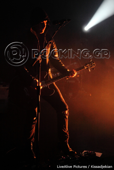Black Rebel Motorcycle Club, Athens, Greece, 04/03/14