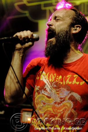 Clutch, Athens, Greece, 24/06/14