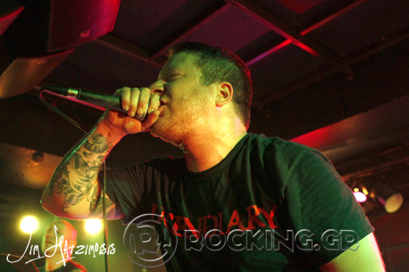 Comeback Kid, Athens, Greece, 11/07/14