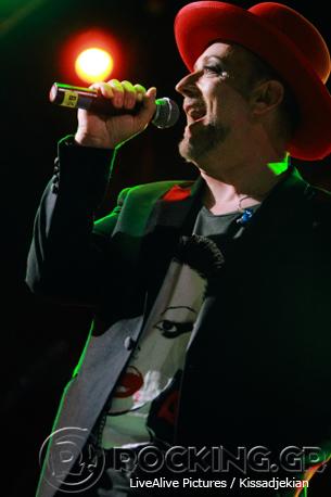 Boy George, Athens, Greece, 21/06/14