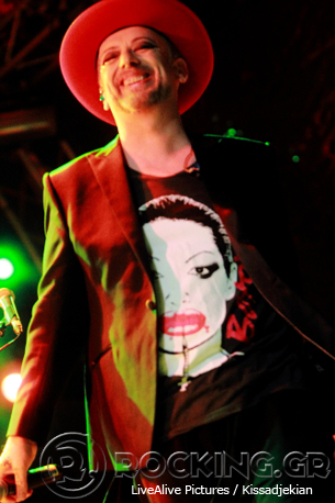 Boy George, Athens, Greece, 21/06/14