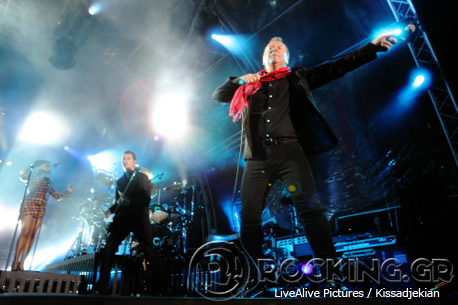 Simple Minds, Athens, Greece, 20/06/14