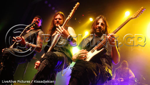 Iced Earth, Athens, Greece, 31/01/14