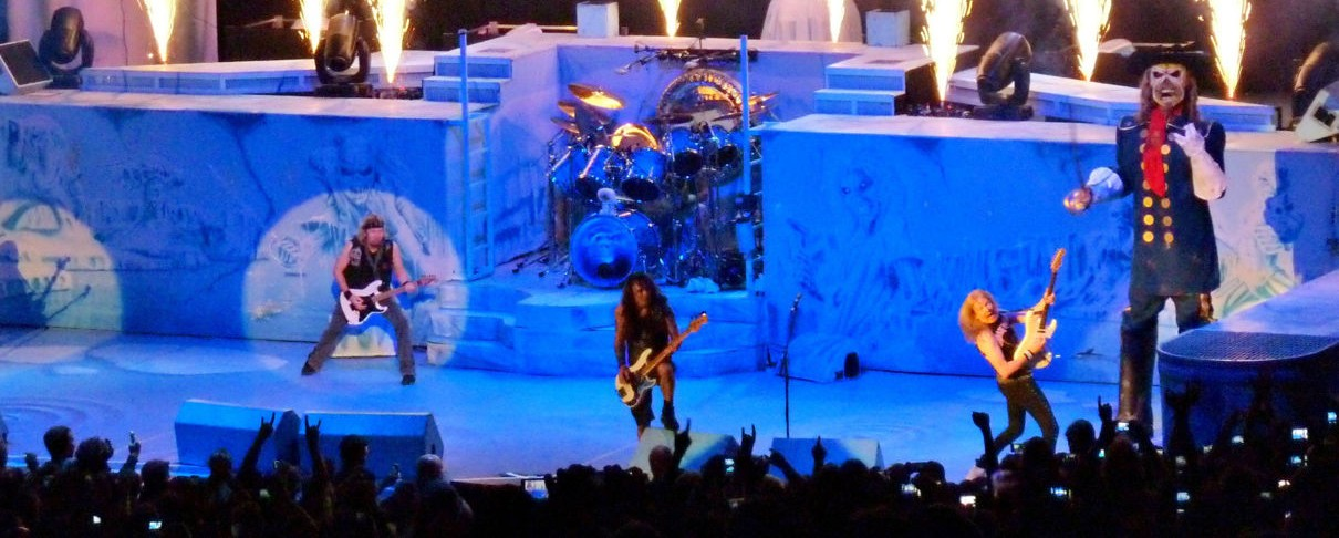 Iron Maiden, Ghost @ Armeec Arena (Σόφια), 16/06/14