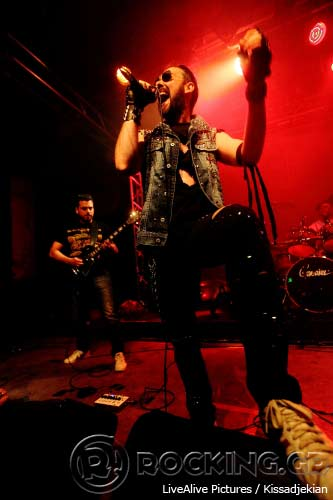 Dexter Ward, Athens, Greece, 23/04/14