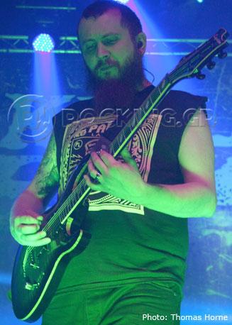 Killswitch Engage, Glasgow, Scotland, 04/02/14