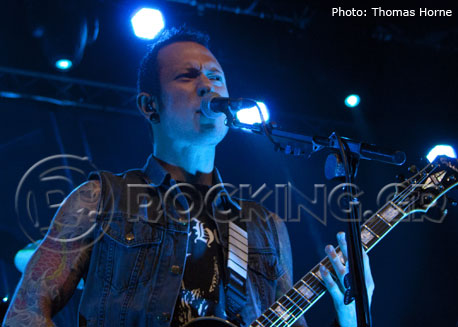 Trivium, Glasgow, Scotland, 04/02/14