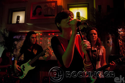 The Mongrelettes, Athens, Greece, 16/11/14