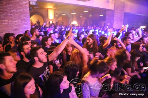 Crowd, Patras, Greece, 01/11/14