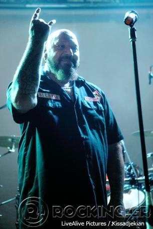Paul Di'Anno & Sorrowful Angels, Athens, Greece, 18/06/14