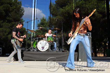Beggar's Blues Diary @ Rockwave Festival, Athens, Greece, 11/07/14