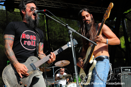 Beggar's Blues Diary @ Rockwave Festival, Athens, Greece, 11/07/14