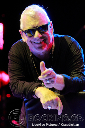Eric Burdon @ Rockwave Festival, Athens, Greece, 11/07/14
